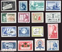 SUPERFLEAS 1958 1959 1960 Complete Year Set / Canada MNH  Postage Stamps