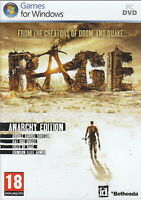 NEW! RAGE ANARCHY EDITION FOR PC/XP/VISTA/7 SEALED NEW