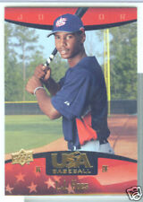 L.J. Hoes Baltimore Orioles 2008 UD USA Baseball