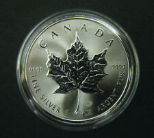 2016 Canada $5 1oz Silver Maple Leaf Bullion Coin .9999 Fine BU dollar round