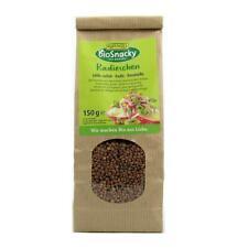 KS (35,67/kg) 2x Rapunzel BioSnacky Radieschen Keimsaaten vegan bio 150 g