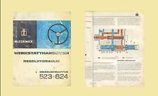 IHC INTERNATIONAL  Werkstatthandbuch Regelhydraulik 523 624 Original 1967