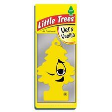4 X Piccolo Magic TREE DEODORANTE AUTO MOLTO VANIGLIA Freshner 2D