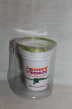 Dunkin' Donuts Christmas Ornament Coffee Cup Green String Rare NIP New