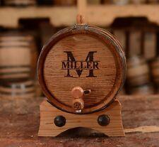 Personalized   Customized - American Oak Barrel   2 Liters