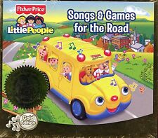Fisher Price - Little People / Songs & Games For The Road - Gold Edition  Sealed