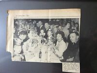 H5-1 ephemera 1961 picture article margate police children's party nayland hotel