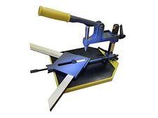 CORNICE quadro unendo KIT Mitre Cucitura underpinner MACHINE base & STAPLES nuovo