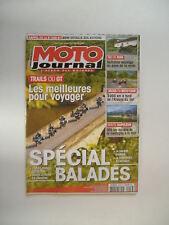 MOTO JOURNAL n°2108 HONDA 1200 CROSSTOURER & HONDA VFR 1200-TRIUMPH TIGER 1200
