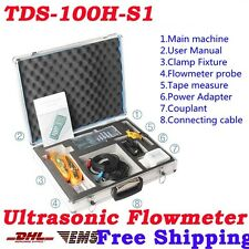 New TDS-100H-S1(DN15-100mm) Handheld Ultrasonic Flow Meter Flowmeter