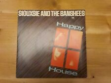 """POSP117 1980 SIOUXSIE AND THE BANSHEES 7"""" 45 """"HAPPY HOUSE"""" *HELLO FUDGIE* EX"""