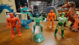 1982 Remco Crystar loose action figure lot Crystal Dragon Lava Dragon many more!