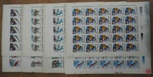 1992 Rumänien; 200 Serien Winterspiele, postfrisch/MNH, MiNr. 4761/68, ME 840,-