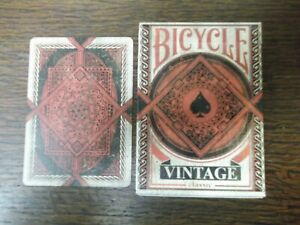 "SUPERB PACK ""Bicycle - Vintage (Made to Look Old) (SUPERB)"" Pack of Play Cards"