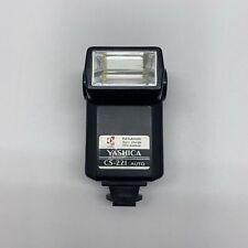 Yashica CS-221 Auto Camera Flash -TESTED