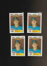 1984 Topps Glossy All-Stars #19 Dale Murphy Braves Lot of 4