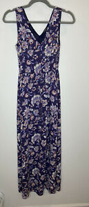 Lucky Brand Paisley Maxi Dress With Drawstring - Altered