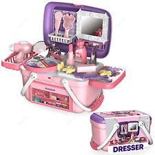26Tlg. Kinder Spielzeug Kosmetik Set Koffer Mädchen Make-Up Schminkset Geschenk