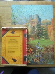 Vintage Waddington's Giant Jigsaw Puzzle 439 Pieces - Iris Castle - vol 1