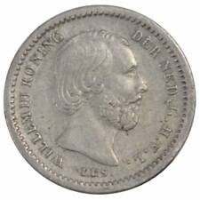 [#150311] Munten, Nederland, William III, 5 Cents, 1850, ZF+, Zilver, KM:91