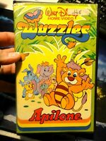 VHS 1985 - WALT DISNEY HOME VIDEO WUZZLES - APILONE -