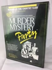 Murder Mystery Party Game Murder At The Country Club Deluxe Edition 8 Players