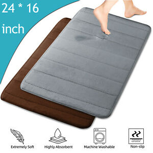 Absorption Non-slip Memory Foam Bathroom Floor Shower Soft Carpet Door Mat