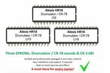 Alesis HR16 / HR16B - Soundchip Upgrade Roland CR-78 & Emu Drumulator kit chips
