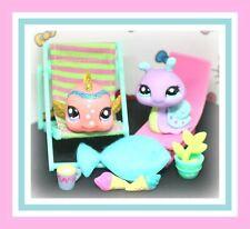 ❤️Authentic Littlest Pet Shop LPS 2352 2353 Snail SPARKLE Glitter Nemo Fish❤️
