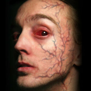 Tinsley Possessed Trauma Veins Prosthetic Special Effects Makeup Temp Tattoos