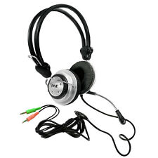 New Pyle PHPMC2 Stereo PC Multimedia Noise Canceling Marine Headset/Microphone