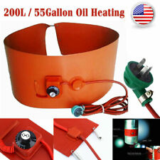 200L/55Gallon 1000W Silicone Band Drum Heater Oil Biodiesel Metal Barrel 200L