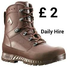ARMY ISSUE BOOTS FOR HIRE - GORETEX - WATERPROOF £40 WILL BE REFUNDED ON RETURN