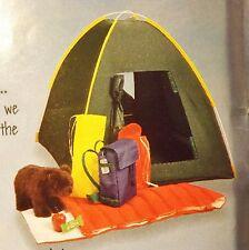 Magic Attic Doll 3 Camping Sets Sleeping bag, backpack, + more  - American Girl
