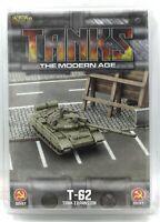 TANKS The Modern Age MTANKS12 T-62 Tank Expansion (Soviet) Gale Force Nine NIB