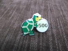 Bowling pin 500  series white ball green turtle