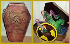 Megadeth Rust in Peace RARE Coffin Box Set Vic Rattlehead metallica slayer tix