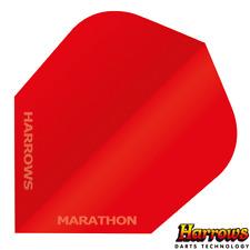 Harrows Marathon Anti Glare Flights - 100 micron - Red