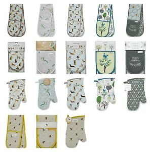Cooksmart Oven gloves, Double or Single. New Designs