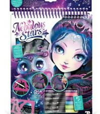 Nebulous Stars Eclipsia Black Pages Colouring Book Topmodel first class post