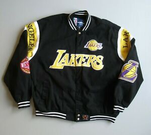 Los Angeles LAKERS Embroidered JACKET Basketball NBA Western Conference 3XL