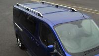 Aluminium Roof Rack Rails Side Bars Set To Fit SWB Ford Transit Custom (2012+)