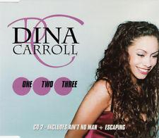 DINA CARROLL ONE , TWO , THREE , 3 TRACK CD SINGLE FREE P&P CD 2