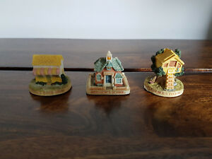 Collection of 3 95 Lyons Tetley Ltd Pottery Houses (Tina's Nephew's Clarence's)