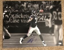 Michael Vick Atlanta Falcons Signed Autographed 16x20 Photo Beckett COA