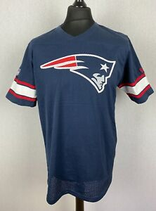 Vintage New England Patriots New Era Jersey Men's Size Large NFL Team Apparel