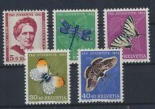 Schweiz 561/65 postfrisch / Insekten (10952) ...................................