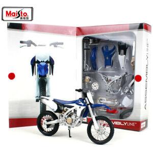Maisto MX Yamaha YZF450 Assembly Line Motorcycle Toy Model Kit
