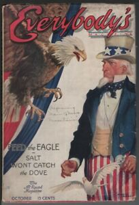 Everybody's Magazine 1915 October. Classic Uncle Sam cover