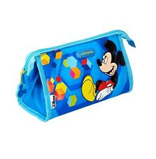 Samsonite Mickey Mouse Makeup School Pencil Case Toilet Stationery Bag Cosmetic